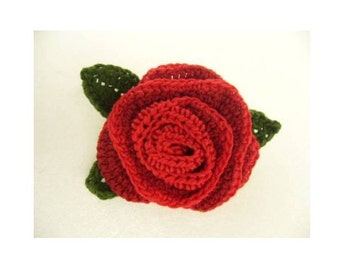 New!! handmade crochet  flower motif brooch corsage for party, wedding, gift