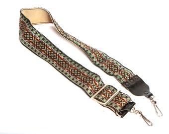 vintage 60s 70s pentax canon minolta boho psychedelic adjustable CAMERA strap