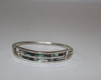 Vintage Silver Mexican Braclet.