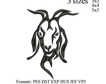 boer goat embroidery machine . embroidery pattern . embroidery designs