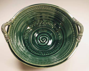 Ceramic Handmade Bowl with Handles