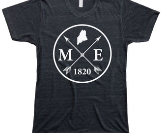 Homeland Tees Men's Maine Arrow T-Shirt