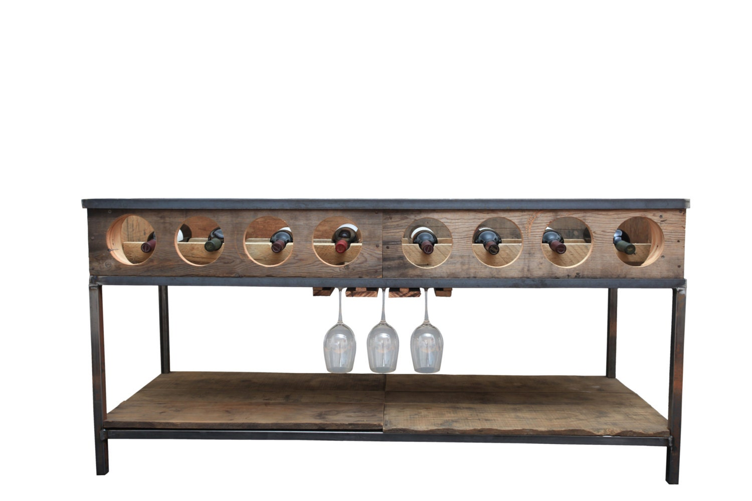 wine rack console table. 🔎zoom Wine Rack Console Table M