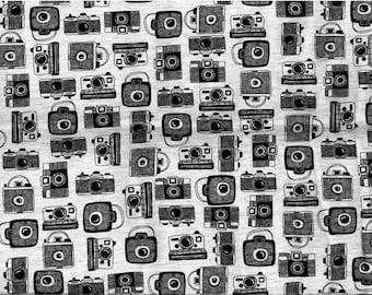 Cameras Jersey fabric