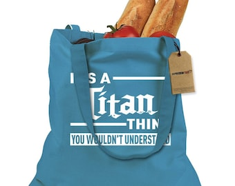 It's A Titan Thing Shopping Tote Bag