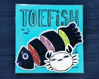 Toefish Sticker Pack