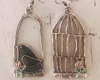 Uncaged! Mixed Style Earrings