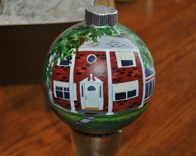 Great Housewarming gift, Hand Painted Home Ornament - sold