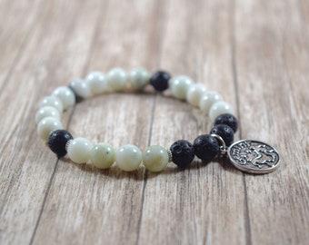 Gemini Bracelet / gemini gift ideas, gemini stone jewelry, gemini gifts for her, gemini jewelry, serpentine, astrology gift ideas, group 3