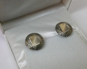 Earring Earrings Silver 925 Nostalgia rar SO235