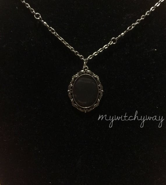 Mirror scrying necklace aloadofball Image collections