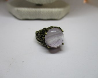 Pale Amethyst Ring