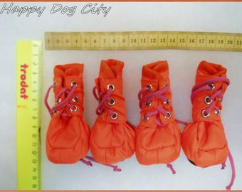 Footwear for dogs, boots,