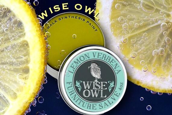 Back In Stock Wise Owl Lemon Verbena Furniture Salve