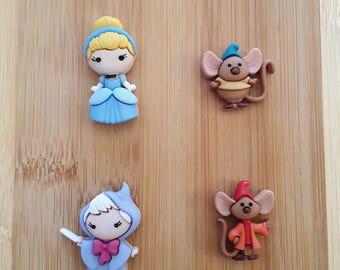 Cinderella Needle Minder (Set of 4)