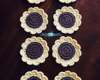 Sunflower Coasters (set of 4)