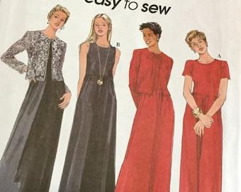 Simplicity 8414 | Misses Knit Dress and Jacket | Size 20-24 | Uncut