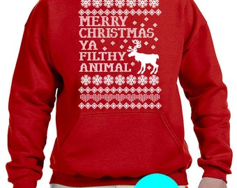 Filthy Animal UGLY SWEATER, Hoodie