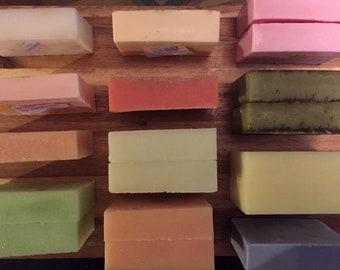 Rose - 3.5 oz All-Natural Goats Milk Soap Bar