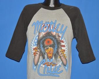 80s Motley Crue Girls Girls Girls Rock Jersey t-shirt Large