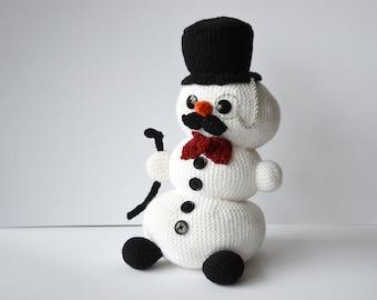 Amigurumi Snowman : Lumi the lovely snowman crochet pattern snowman crochet pattern