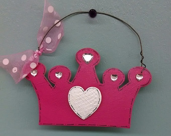 Princess Crown Christmas Ornament