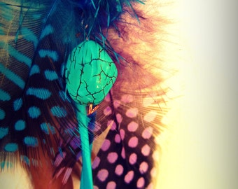 Isabella Feather Earring