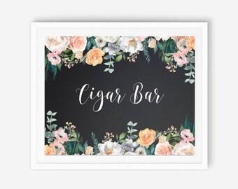 Chalkboard cigar, chalkboard cigar bar, wedding cigar bar, sign for cigar, cigar bar, cigar bar wedding, wedding cigar, wedding cigar sign,
