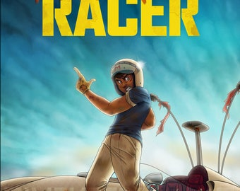 Speed Racer Fury Road Poster