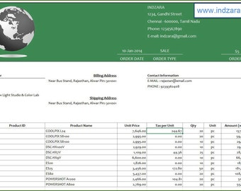 Retail Inventory and Sales Manager – Excel Template