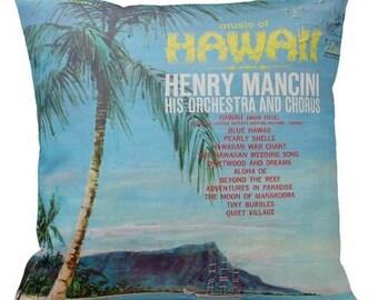 Henry Mancini 'Hawaii'-  Cushion Cover