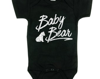Baby Bear bodysuit - Baby bodysuit - Baby Bodysuit - Baby Shirt - Infant Toddler Shirt - Kids Shirt Baby Clothes Baby Bear