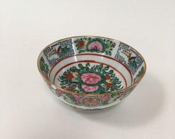 Vintage Rose Medallion Petite Bowl