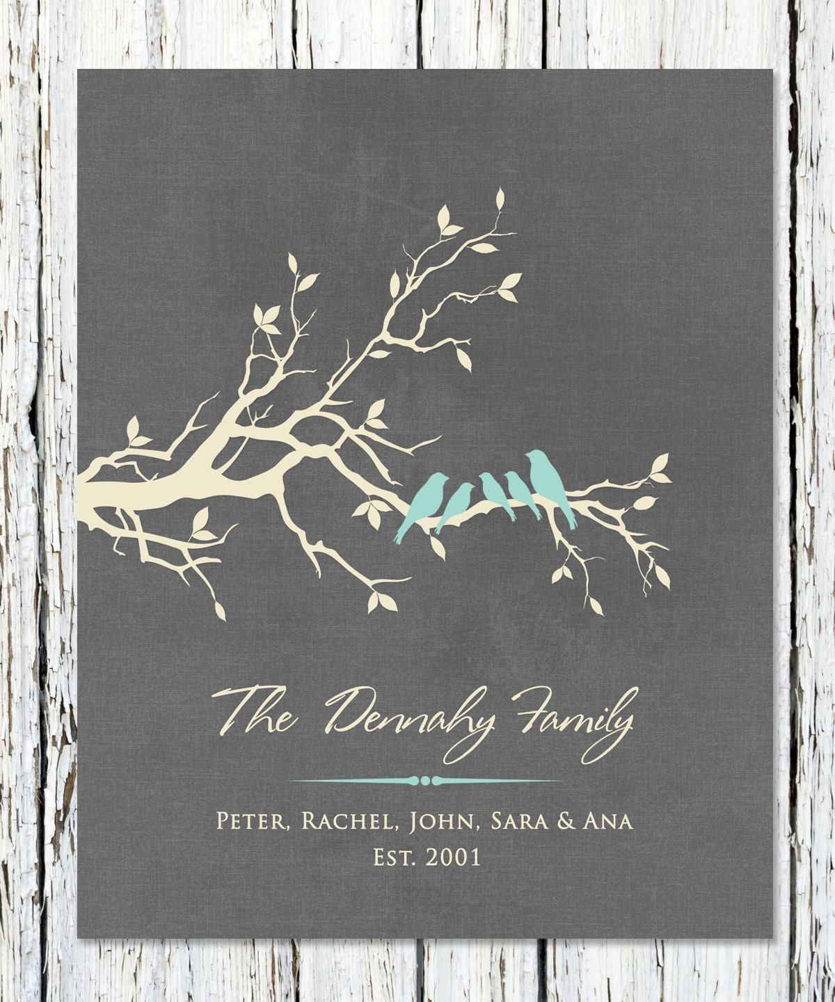 Personalized Family Name Sign Wall Decor Family Sign Home