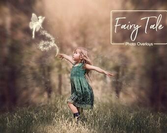 Fairy tale, 15 PNG, Photoshop overlay, Fantasy, Magic wand, Magical fairy, Glitter trail, Star trail, Sparkle trail,  Fairy Dust, Pixie dust