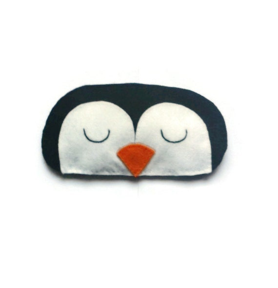 masque de sommeil pingouin masque pour les yeux pingouin. Black Bedroom Furniture Sets. Home Design Ideas