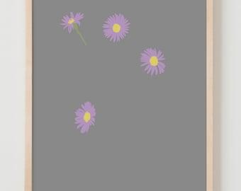 Fine Art Print. Wildflowers. June 9, 2015.