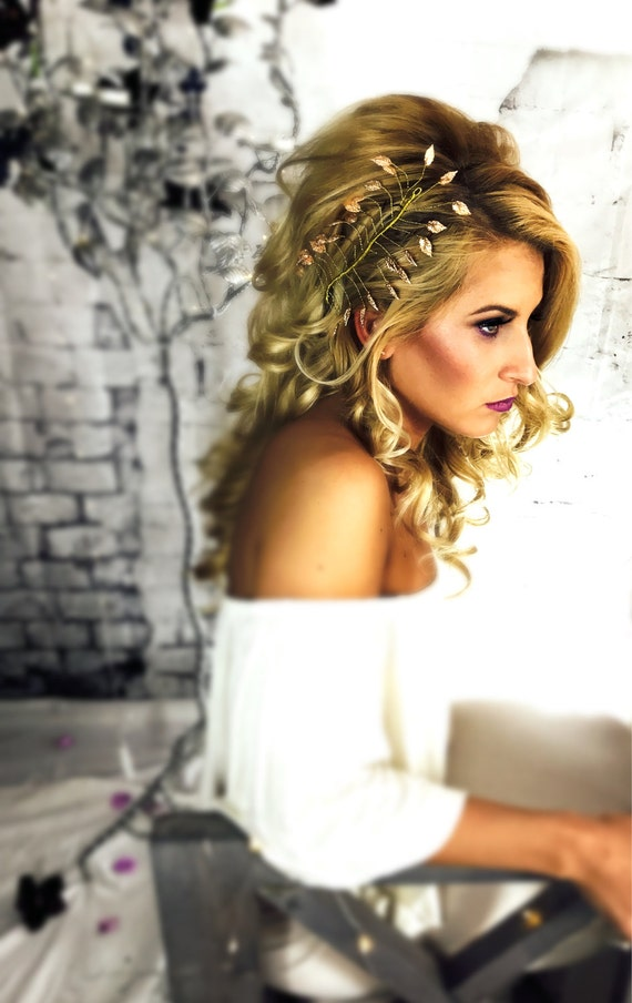 Gold Bridal Headpieces Hair FLOATERS
