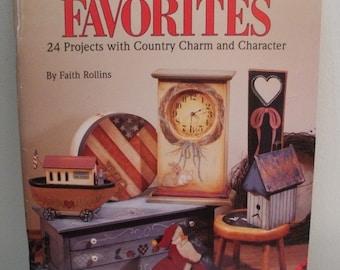 Folkart Favorites Painting Book - Faith Rollins