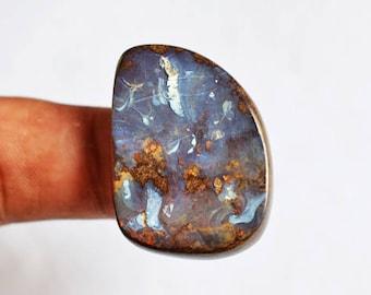 New  Quality Arrivals  Natural Australian Boulder Opal Cabochon, Jewellery Making Gemstone, Calibrated, Semi Precious, Pendant Stone, 7517