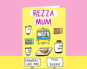 Mother's Day Card  - Rezza Mum