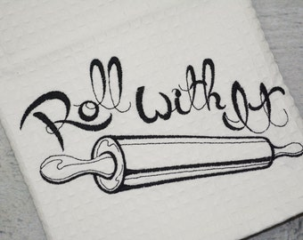 Roll With It Kitchen Towel