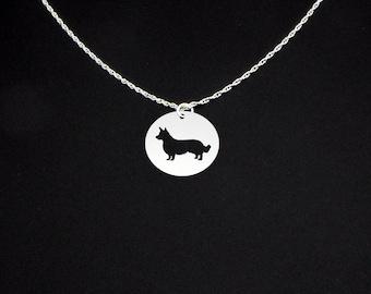 Cardigan Welsh Corgi Necklace - Corgi Gift - Corgi Jewelry - Cardigan Corgi
