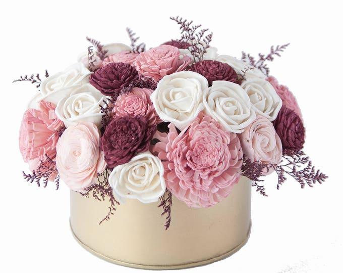 Sola Flower Sweetheart Bouquet - Sola Flower Arrangement, Valentine's Floral Arrangement, Floral Centerpiece, Forever bouquet