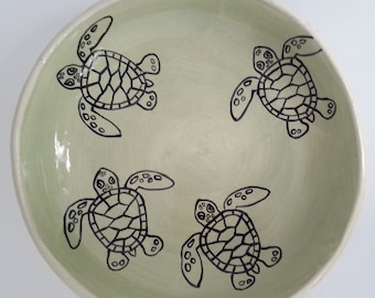 Loggerhead Hatchling Serving Bowl