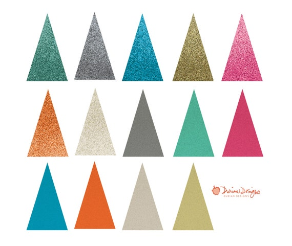 glitter triangles commercial use multi color elegant printable rh etsystudio com sparkle clip art free sparkler clip art free