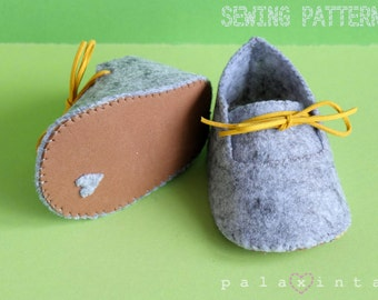WATSON Felt Baby Shoe Pattern