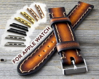 Apple Watch Band, Apple Watch Band 42mm, Apple Watch Band 38mm, Apple watch Leather Band, Leather Apple Watch Band, Band for Apple Watch