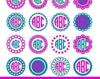 60 % OFF, Circle Monogram Frames SVG, Circle Monogram svg, Monogram Frame svg, png, eps, dxf, Circle Frames, Circle Frames SVG ,