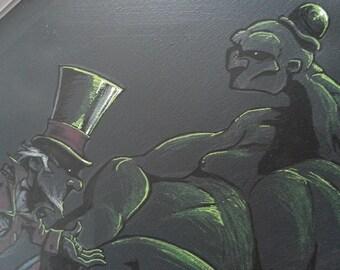 Monsieur Loyal (toile Freaks Show)